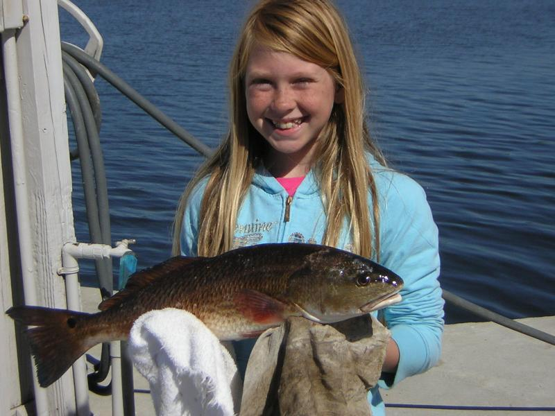 ANASTASIA AND HER BIG REDFISH